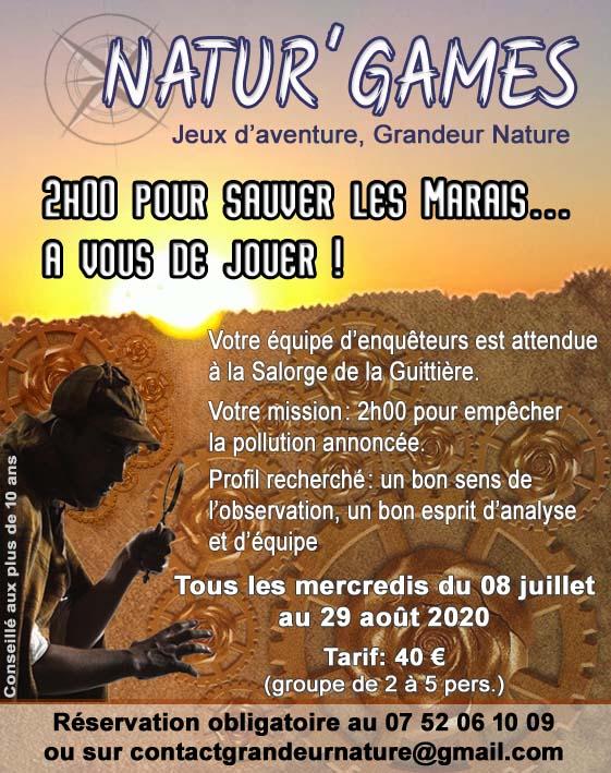 Natur Games Dans Les Marais Talmont Saint Hilaire