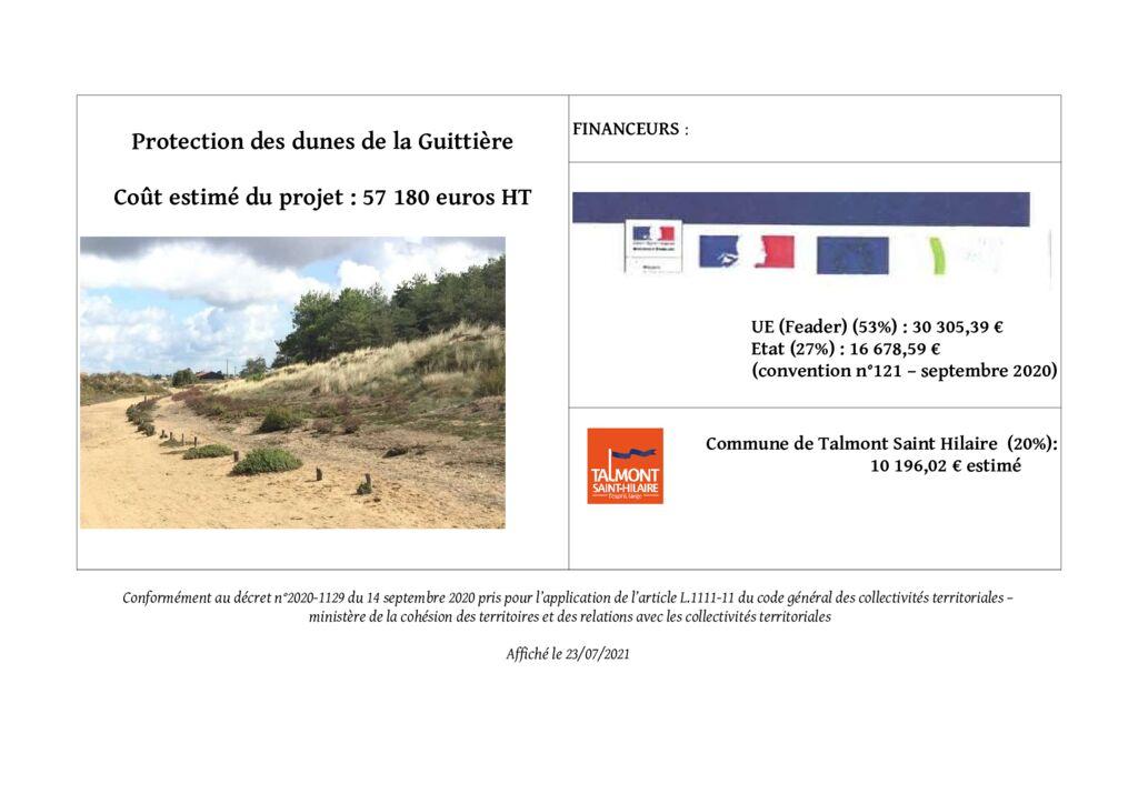 thumbnail of AFFICHAGE OP INVESTT PROTECT° DUNES DE LA GUITTIERE